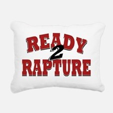 Ready to Rapture Rectangular Canvas Pillow