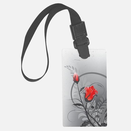 Rose (3G) Large Luggage Tag