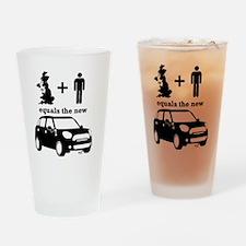 UK Country + Man Mini Drinking Glass