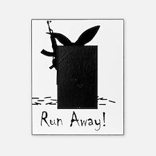 Killer Bunny Black Picture Frame