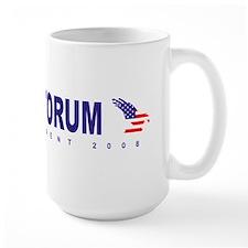 Rick Santorum for president Mug