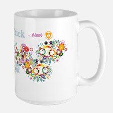hippie-chick-long-walll Mug