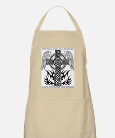 An Angel Watches Over These Shoulders Apron