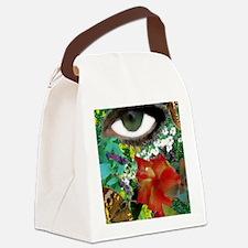 GARDEN-OF-MY-MIND Canvas Lunch Bag