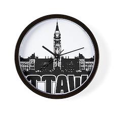 Ottawa Skyline Wall Clock