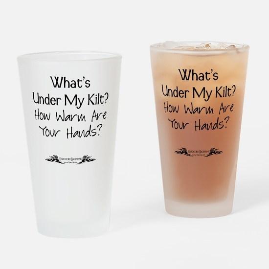 Under Kilt Drinking Glass