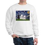 Starry-2Westies (custom) Sweatshirt