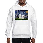 Starry-2Westies (custom) Hooded Sweatshirt