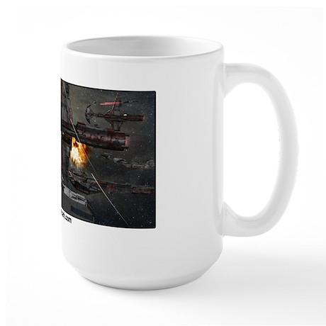 Crimson Dark Large Mug