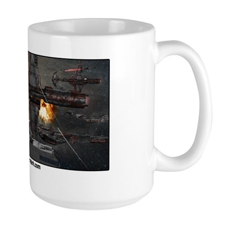 Crimson Dark Large Mug
