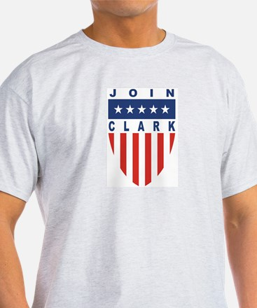 Join Wesley Clark Ash Grey T-Shirt