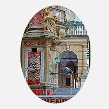 Rothenburg od Tauber - Saint George  Oval Ornament
