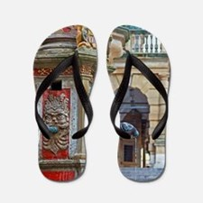 Rothenburg od Tauber - Saint George Fou Flip Flops