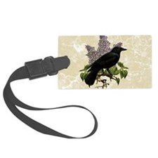 lilac-and-crow_9x12 Luggage Tag