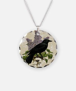 lilac-and-crow_9x12 Necklace