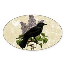 lilac-and-crow_9x12 Decal
