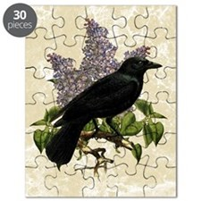 lilac-and-crow_12x18 Puzzle