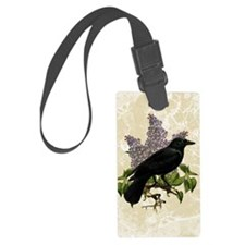 lilac-and-crow_12x18 Luggage Tag