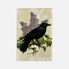 lilac-and-crow_12x18 Rectangle Magnet