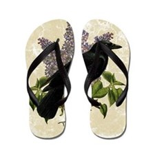 lilac-and-crow_12x18 Flip Flops