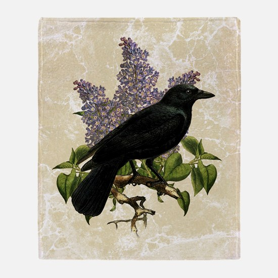 lilac-and-crow_13-5x18 Throw Blanket