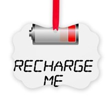 recharge_me Ornament
