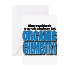 Orcanic Chemistry Greeting Cards