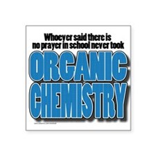 Orcanic Chemistry Sticker