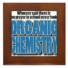 Orcanic Chemistry Framed Tile