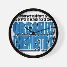 Orcanic Chemistry Wall Clock