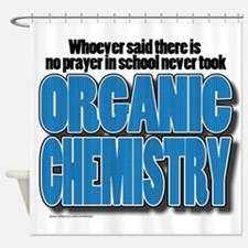 Orcanic Chemistry Shower Curtain