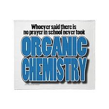 Orcanic Chemistry Throw Blanket