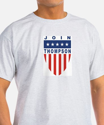 Join Tommy Thompson Ash Grey T-Shirt