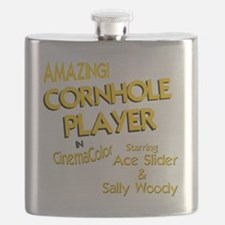 cornhole corn toss Flask