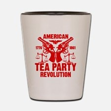 American Tea Party Revolution 2 Shot Glass