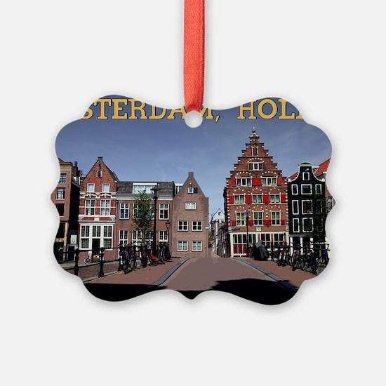 Amsterdam - Bridge and Buildings Ornament