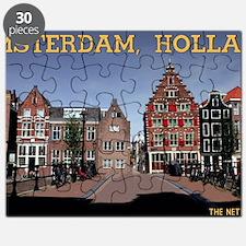 Amsterdam - Bridge and Buildings Puzzle