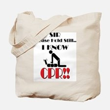 i know cpr Tote Bag