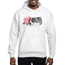 MerleB UC Holds Heart Hoodie Sweatshirt