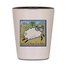 SheepTshirt Shot Glass
