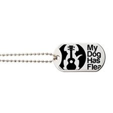 My Dog Has Fleas Ukulele Dog Tags