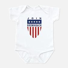 Join Sam Brownback Infant Bodysuit