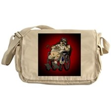 Plinkett Red Small Messenger Bag