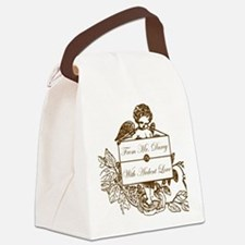 I love Darcy Canvas Lunch Bag