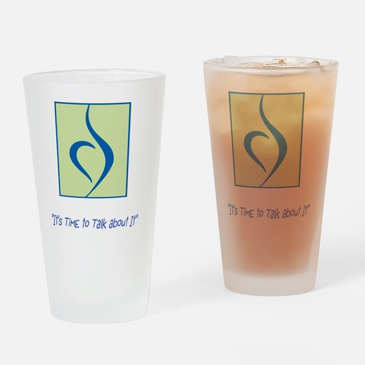 NEDA LOGO Drinking Glass