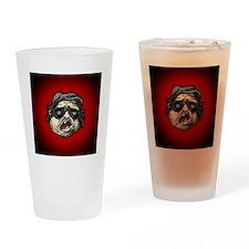 Plinkett Red Face Two Drinking Glass