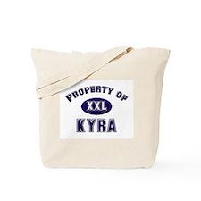 Property of kyra Tote Bag