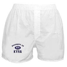 Property of kyra Boxer Shorts