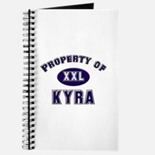 Property of kyra Journal