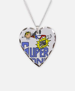 girlsuperONE Necklace Heart Charm